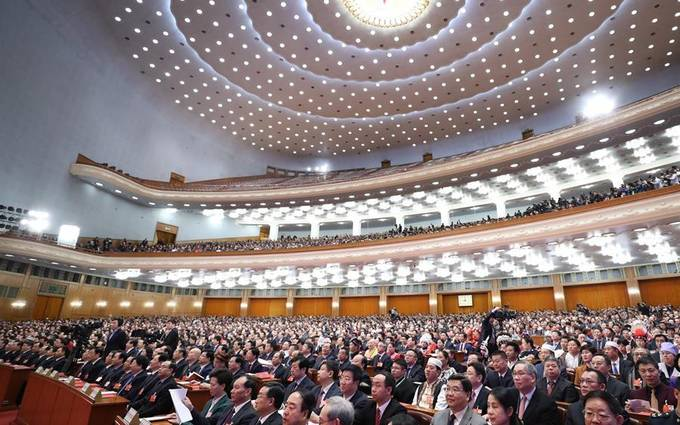 China's national legislature holds closing meeting