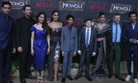 Hollywood and Bollywood stars turn out for 'Mowgli' premiere in Mumbai