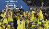 Brazil beats Peru to win 1st Copa América title since 2007