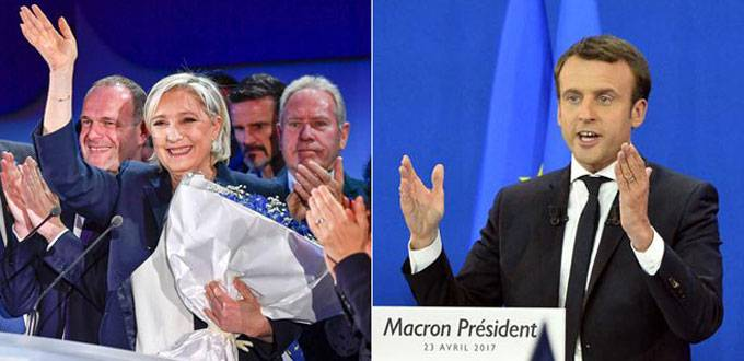 Macron, Le Pen advance to French presidential election runoff: projections